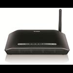 D-Link DSL-2730U Wireless N 150 ADSL2+ 4-Port Router
