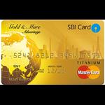SBI Gold & More Advantage Credit Card