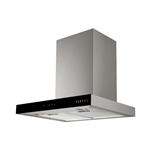 Carysil IBER60-BF 1000 m3/hr 60 cm Stainless Steel Hood Chimney