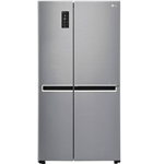 LG 687 L Frost Free Side by Side Refrigerator (GC-B247SLUV)
