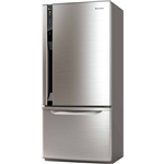 Panasonic 450 L Frost Free Double Door Refrigerator (NR-BW465VNX4)