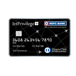 HDFC Bank Jet Privilege Diners Club Credit Card