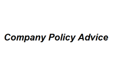 Company Policy Advice