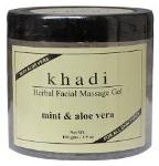 Khadi Mint and Aloe vera Face Massage Gel