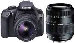 Canon 1300D DSLR Camera Body with Dual Lens