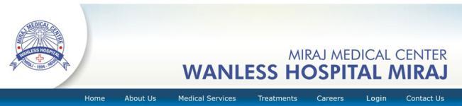 Wanless Hospital - Miraj