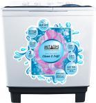 Mitashi 9.8 kg Semi Automatic Top Load Washing Machine (MiSAWM98v25 AJD)