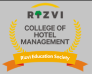 Rizvi College of Hotel Management - Mumbai