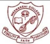 Meenakshi College for Women - Chennai