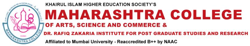 Maharashtra College Of Arts Science & Commerce - Mumbai
