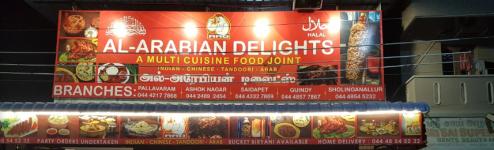 Al Arabian Delights - Sholinganallur - Chennai