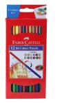 Faber Castell 12 Bi-Colour Pencils