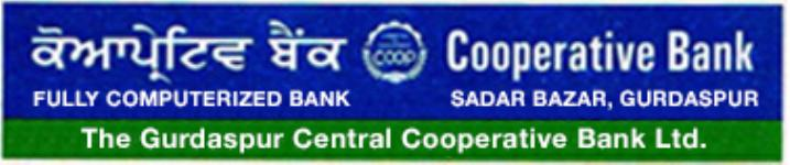 The Gurdaspur Central Cooperative Bank