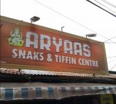 Aryaas Snacks & Tiffin Centre - Peroorkada - Trivandrum