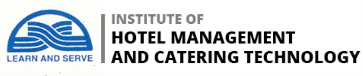 Institute Of Hotel Management And Catering Technology - Kovalam