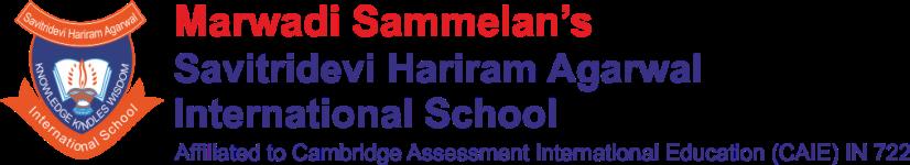 Savitridevi Hariram Agarwal International School - Kandivali West - Mumbai
