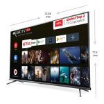 TCL (139.7 cm) 4K Ultra Smart TV (TCL55P8E)