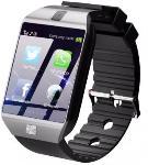 Time Up Camera Bluetooth SIM Card Silver Smartwatch