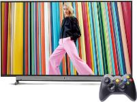 Motorola Smart Android TV with Wireless Gamepad