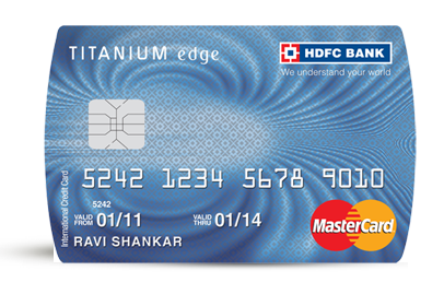 Hdfc forex card information