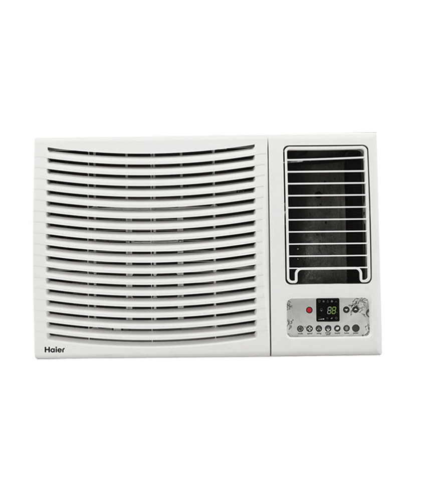 Haier window ac 1 5 ton reviews price specifications for Window 0 5 ton ac