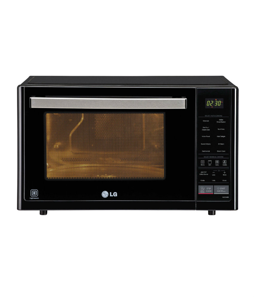 Lg Microwave Convection Oven: LG MJ3294BG 32 L CONVECTION MICROWAVE OVEN Review, LG