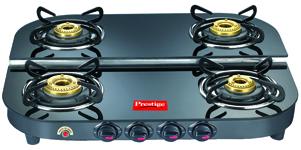 Prestige Gas Stove - Glass top