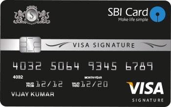SBI Visa Credit Card