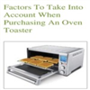 Choosing an Oven / Toaster