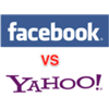 Facebook vs Yahoo