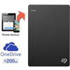 Seagate Backup Plus Slim 1 Tb 200 Gb Cloud Storage External Hard Drive