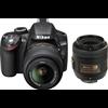 Nikon D3200 (with AFS 18 55mm VR Kit + AFS DX NIKKOR 35 mm f/1.8G DSLR Camera