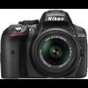 Nikon D5300 (Body with AFS DX NIKKOR 1855 mm f/3.55.6G VR II) DSLR Camera