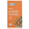 Baking Tray Mini Ajwain Cookies
