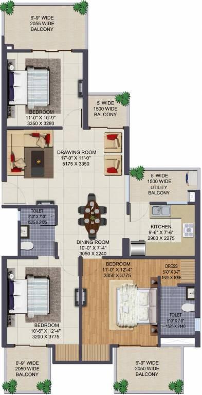 Ajnara Grand Heritage Sector 74 Greater Noida Property Photos Floor Plans Mouthshut Com