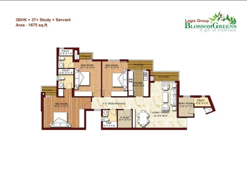 LOGIX BLOSSOM GREENS - SECTOR 143 - NOIDA by Logix Group - Noida